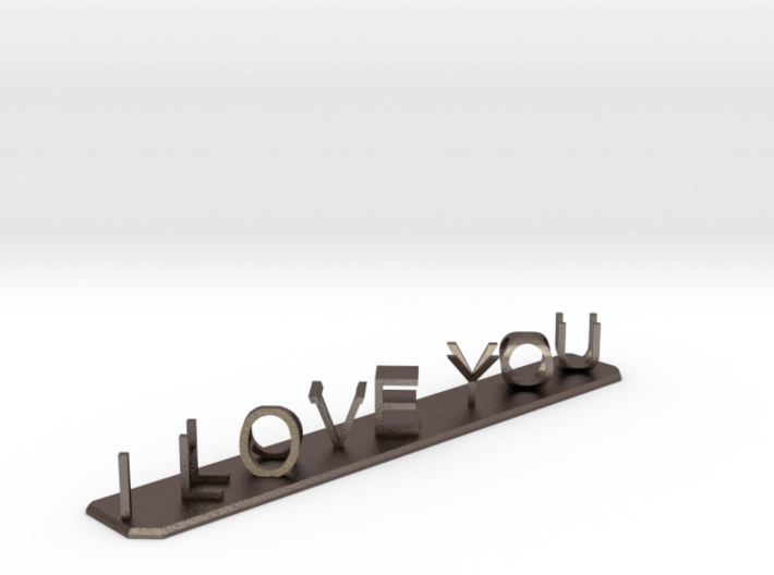 I Love You / I Hate You 3d printed