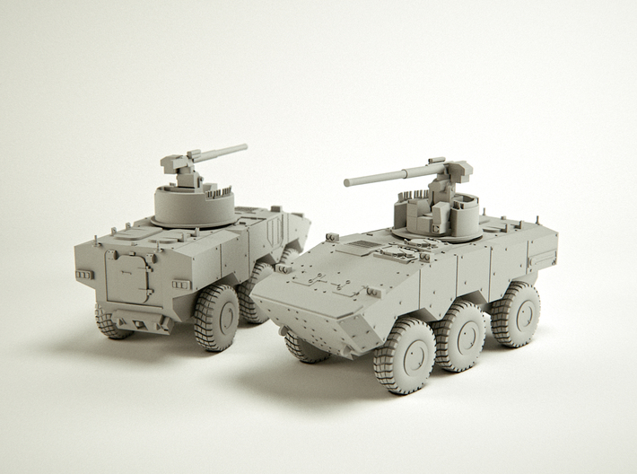 VBTP-MR VBCI Guarani Scale: 1:160 3d printed