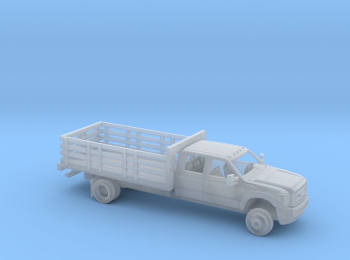 1/87 2011-16 Ford F Series Crew Cab Stakebed Kit 3d printed
