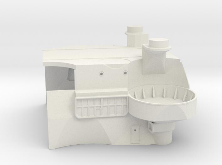 1/144 IJN Yamato Deck Bellow Funnel Part 2 3d printed
