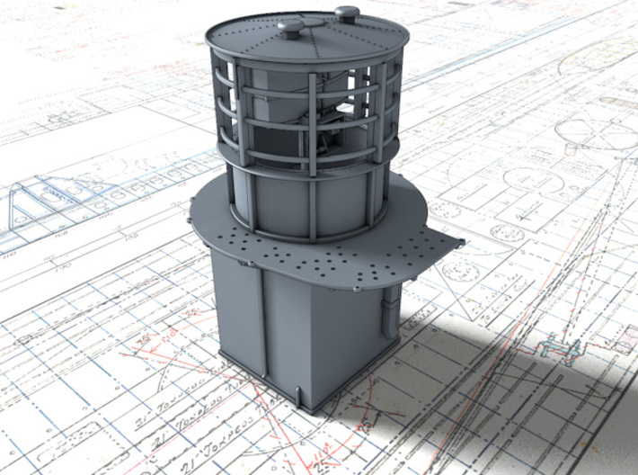 1/56 Flowers Class RDF Lantern Office 1942 3d printed 3d render showing product detail