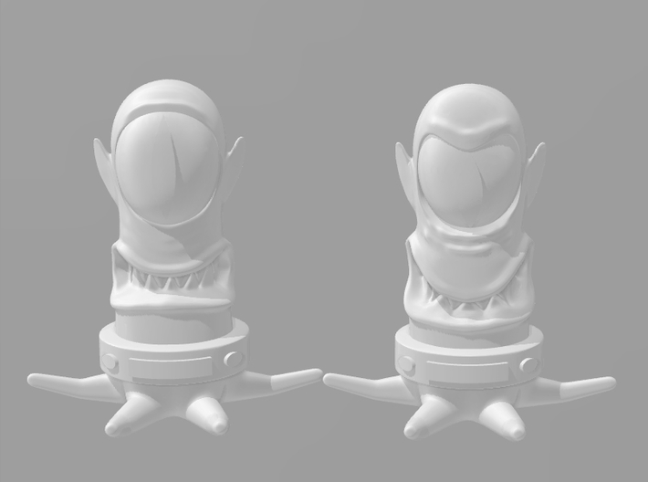 Simpsons Kang 1/60 miniature for wargames and rpg 3d printed