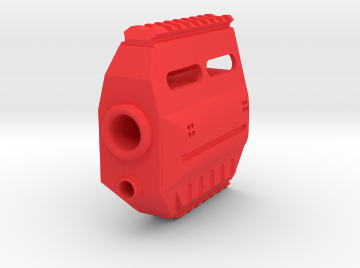 Fusion 360 Front End for Nerf Stryfe 3d printed