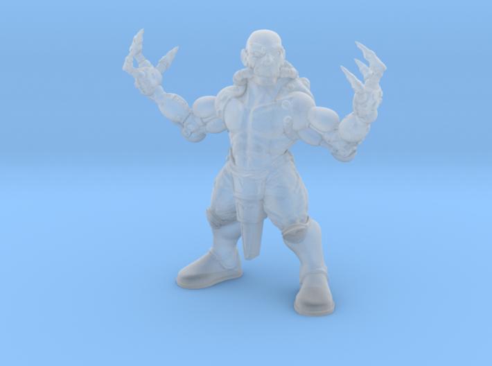 Dragon Monk 3d printed