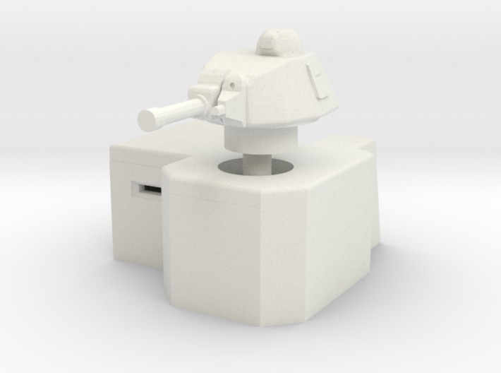Bunker with Somua S35 turret 1/56 3d printed