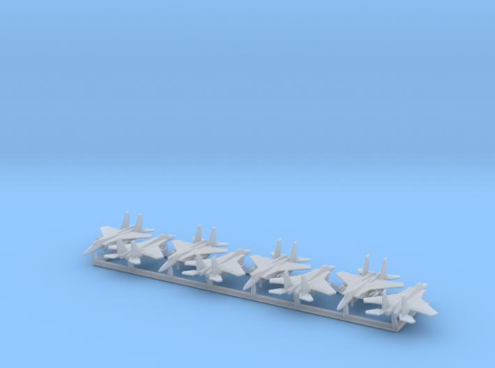 F-15A/C w/Gear x8 (FUD) 3d printed