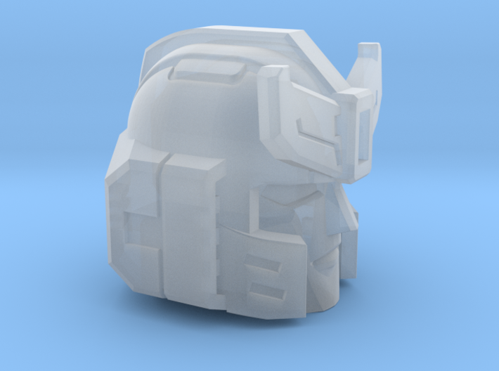 Silverblue Daemon's Head for Siege 3d printed