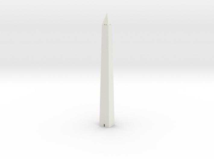 Washington Monument 1/1250 3d printed