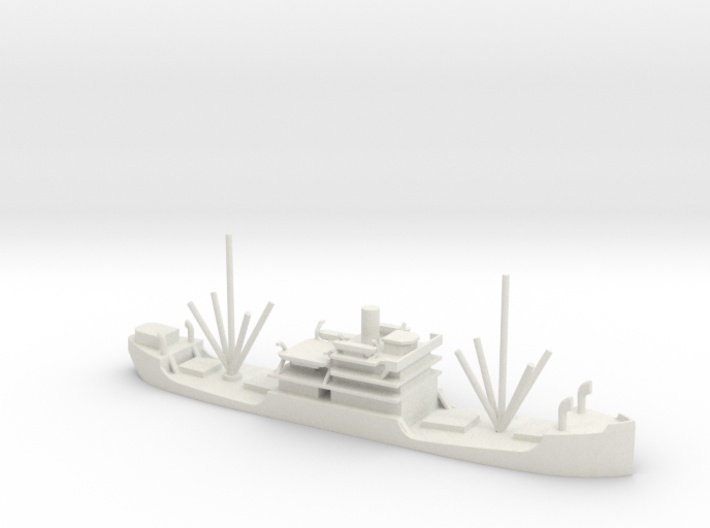 1/600 Scale 3500 ton Cargo Steamer Quinneseco 3d printed