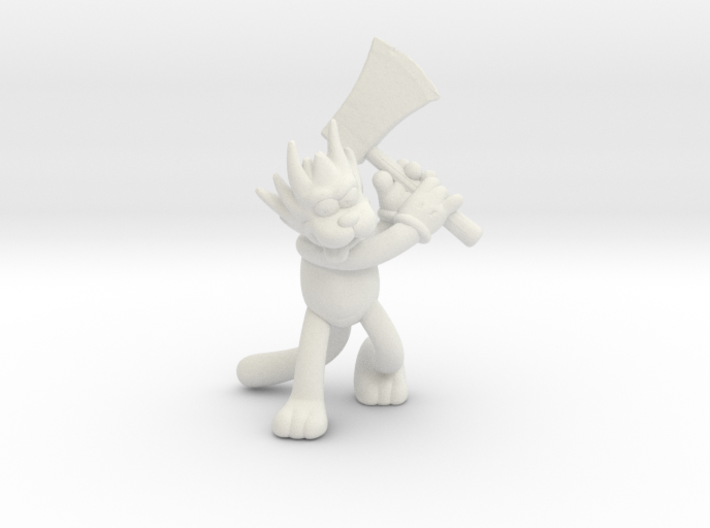 Simpsons Scratchy 1/60 miniature for games and rpg 3d printed