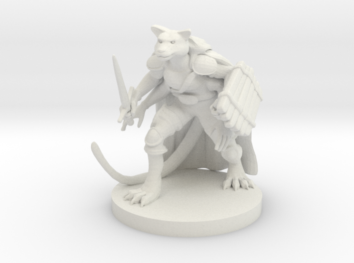 Tabaxi Druid with Four Arms 3d printed