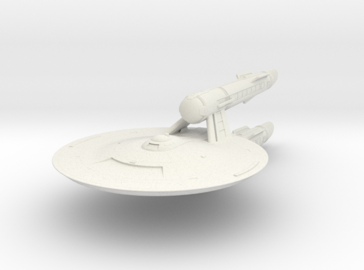 Federation Wilkerson Class IX Destroyer 3d printed