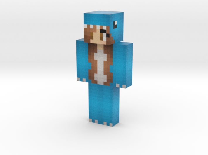welcometochiIis   Minecraft toy 3d printed