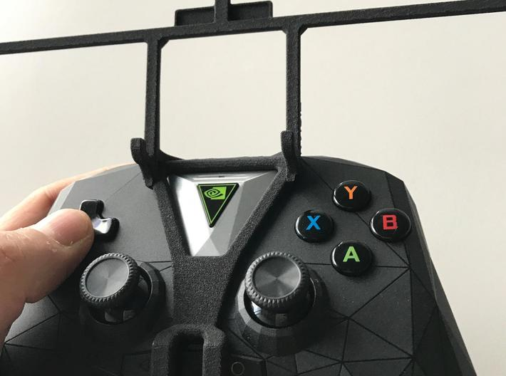 NVIDIA SHIELD 2017 controller & Oppo A9x - Front R 3d printed SHIELD 2017 - Front rider - barebones