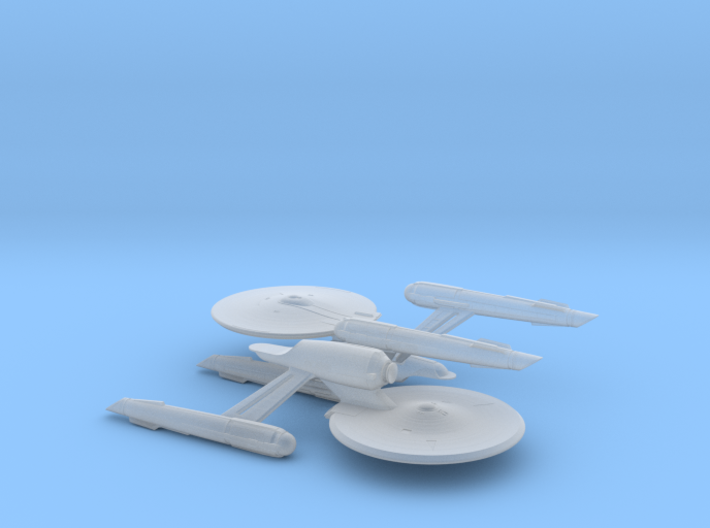 USS Enterprise (Discovery) 1/14000 3d printed