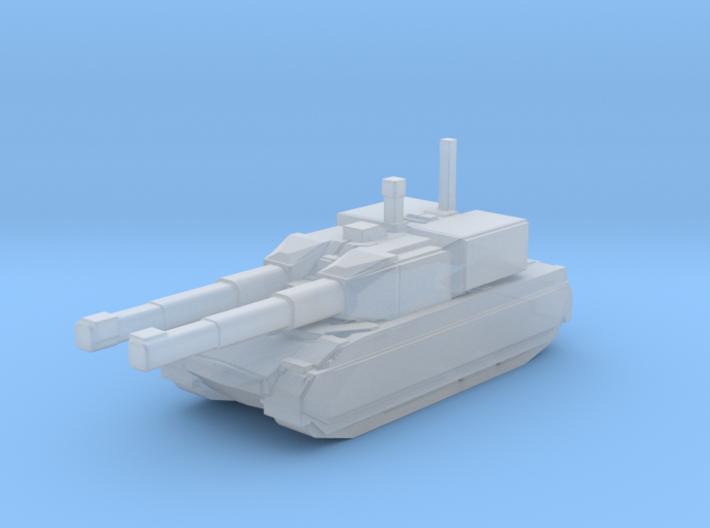 Assault Tank Warrior 3d printed