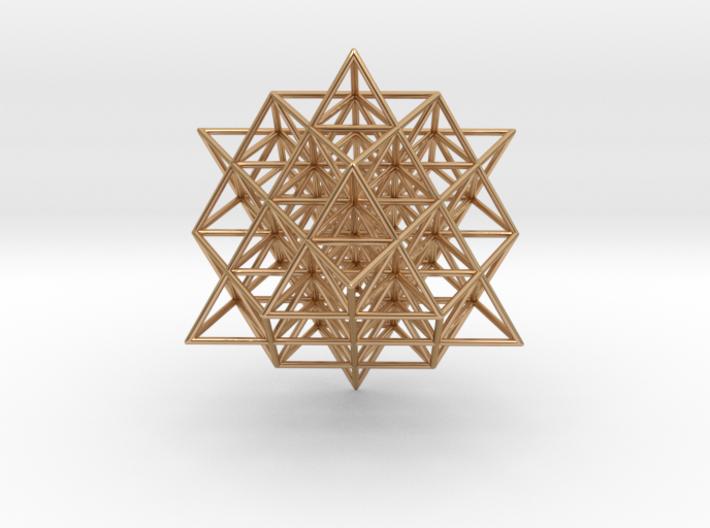 64 Tetrahedron Grid 3 cm. 3d printed