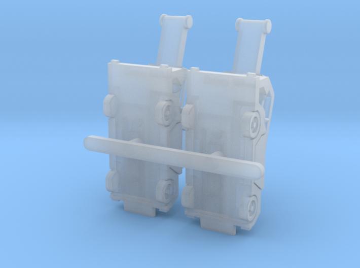 Orbiter4 rev1 Luggage Belt 7.5mm@1/400 3d printed