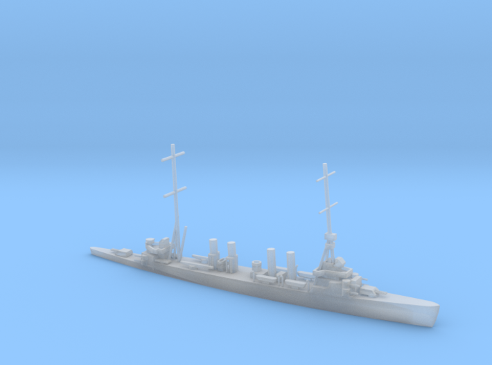 1/1250 Scale USS Omaha CL-4 3d printed