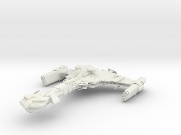 Klingon NasTar Class BattleCuiser 3d printed