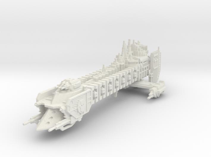 Barcaza de Batalla de renombre El Contrador 3d printed