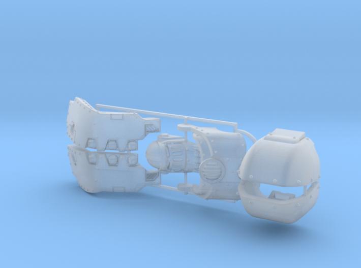 Atlas Pattern Redemptor Kit 2 3d printed
