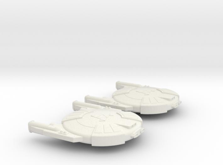 3788 Scale Andromedan Cobra Destroyers (2) SRZ 3d printed