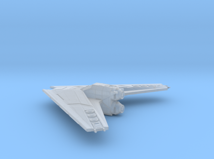 TextSpaced Bomber 3d printed