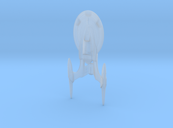 Midway class starship - 7.5cm 3d printed