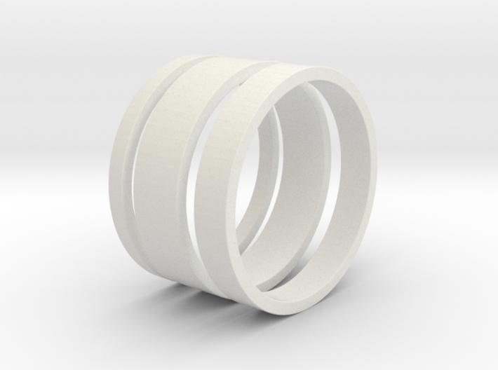 Nichole Ring Set 3d printed