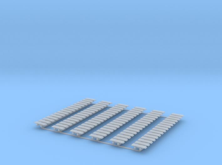 Kette 3 steg 16 mm Breite, 5mm Turasbreite, 96 Ket 3d printed