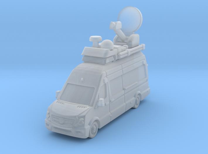 TV truck Sprintr L3H3 2017 3d printed
