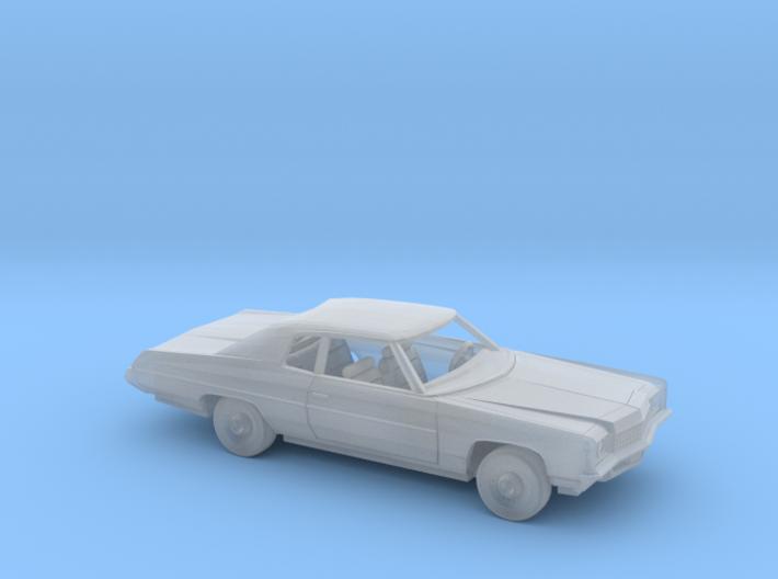 1/160 1971 Chevrolet Impala Custom Coupe Kit 3d printed