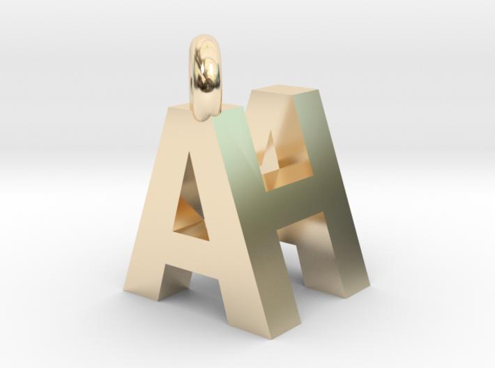 AH pendant top 3d printed