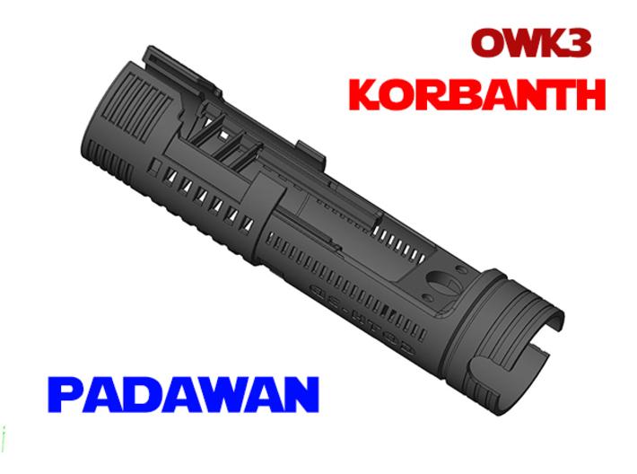 Korbanth OWK3 - Padawan Chassis 3d printed