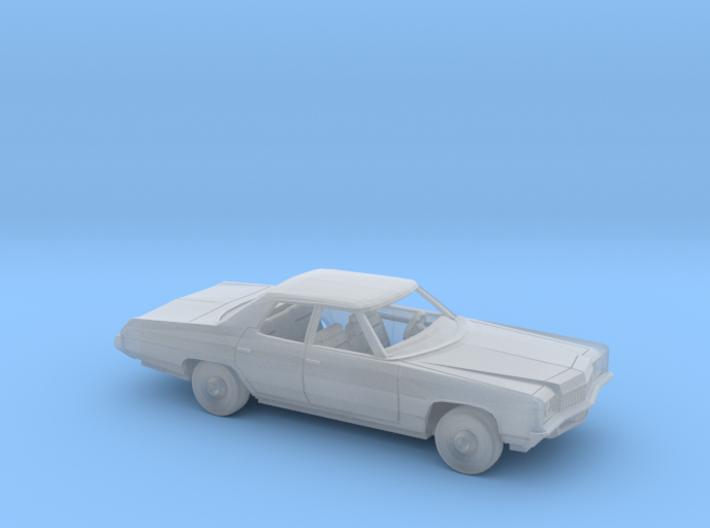 1/160 1971 Chevrolet Impala Sedan Kit 3d printed