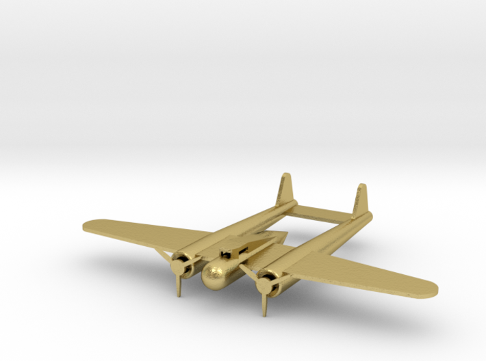 Fokker G-1 small 3d printed