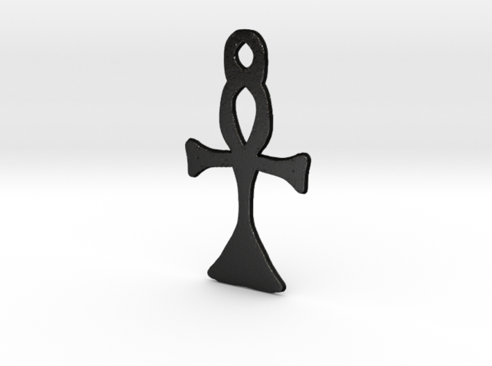 :Simple Ankh: Pendant 3d printed