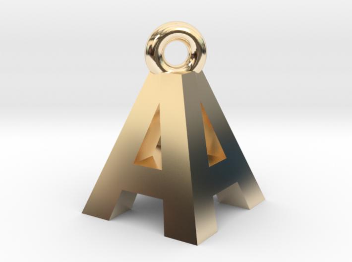 AA Pendant top 3d printed