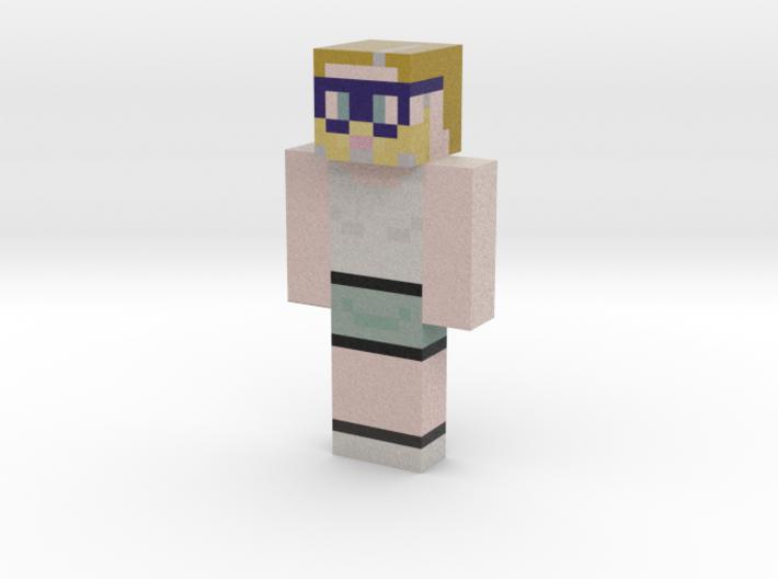 mendicantmonkey   Minecraft toy 3d printed