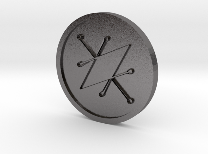 Seal of Saturn Coin 3d printed