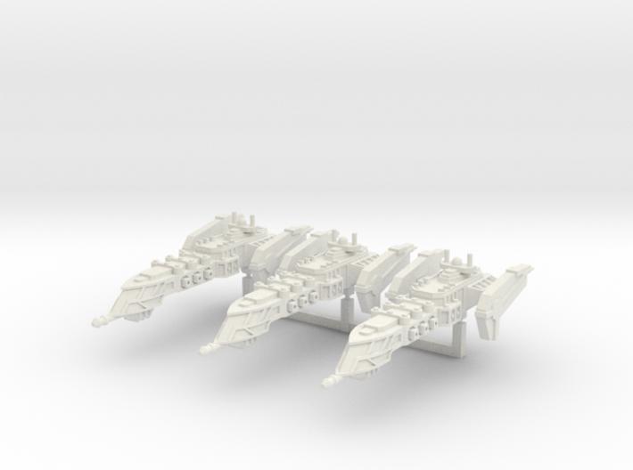 Typhoon Class Frigate squadron 3d printed