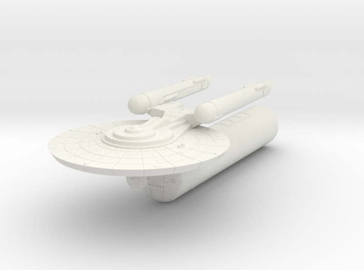 3125 Scale Federation LTT with Battle Pod WEM 3d printed