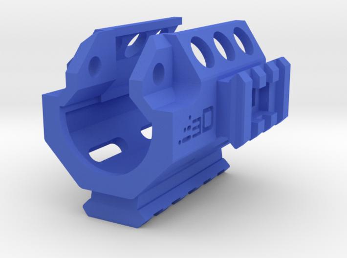 MP5K Vented Tri-Rail RIS Handguard 3d printed