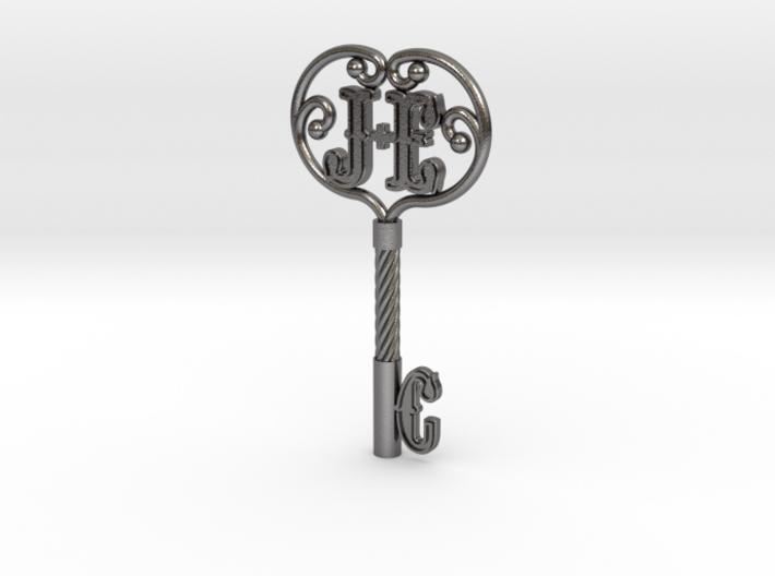 E+J Key 2 3d printed