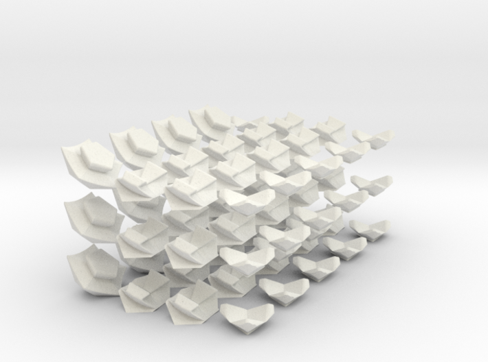 Icosahedron Megaminx modified from Megaminx 3d printed