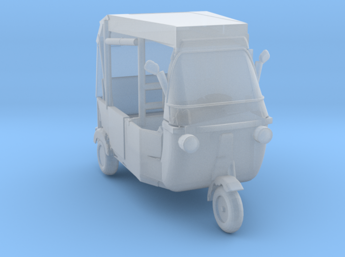O Scale Modern Rickshaw 3d printed This is a render not a picture