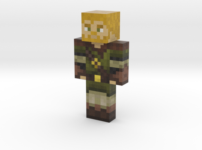 JackHunter4 | Minecraft toy 3d printed