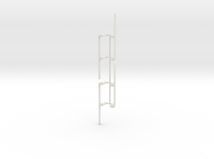 Guardrail - 2-Bay Left 3d printed Part #GR-001