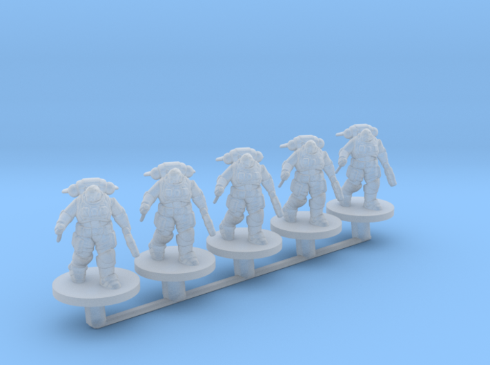 Reaver Marines Close Combat 6mm Infantry for Epic 3d printed